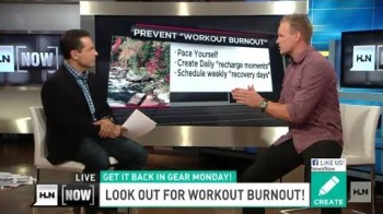 Beware! Watch out for workout 'burnout'