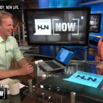 Mark Helps Mike Galanos Stay Healthy On The Weekend HLN 8 Week Transformation Challenge
