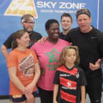 Mark Heads to Sky Zone on HLN 8 Week Challenge Fitness Friday!