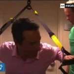 How to Workout Anywhere, Anytime with Mark on HLN News