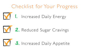 weight loss results checklist