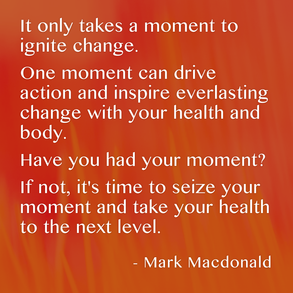 The Power Of A Moment Mark Macdonald