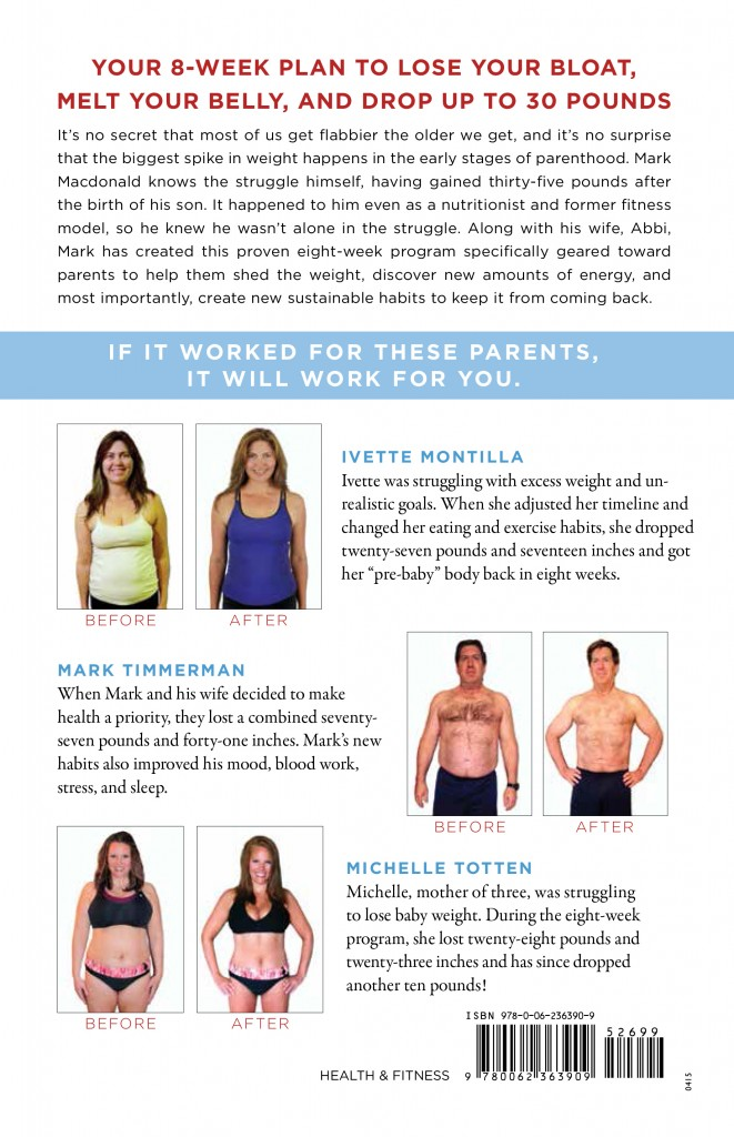 Why Kids Make You Fat - Back Cover