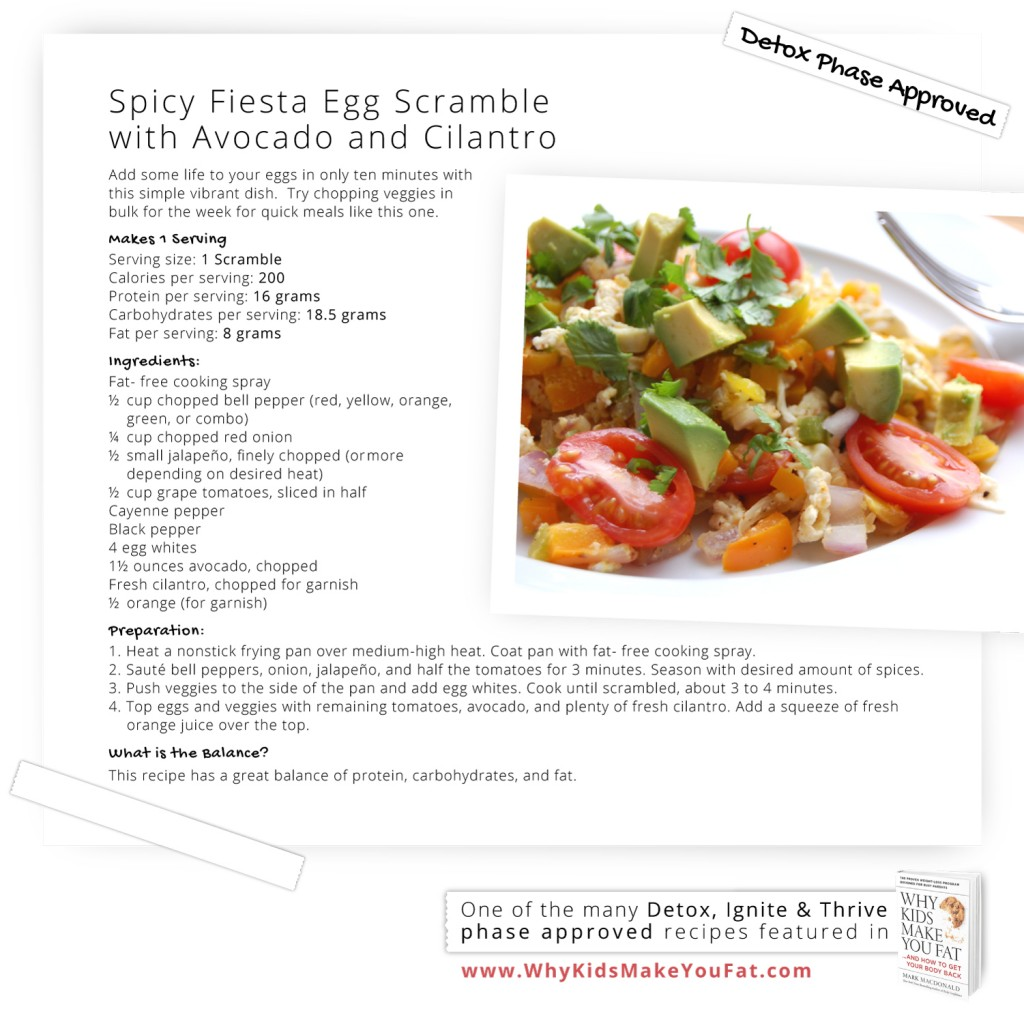 Egg White Fiesta Scramble