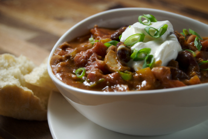 Spicy Turkey and Black Bean Chili