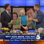 Mark shares Why Kids Make You Fat with KTLA