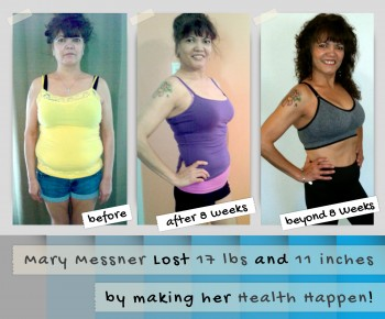 Mary Messner - Before and After