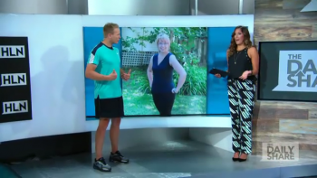 Mark and Jasmine on HLN Daily Share featuring Carolyn McBurney