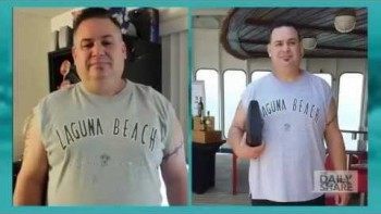 Justin Baird lost 118 pounds in 9 months