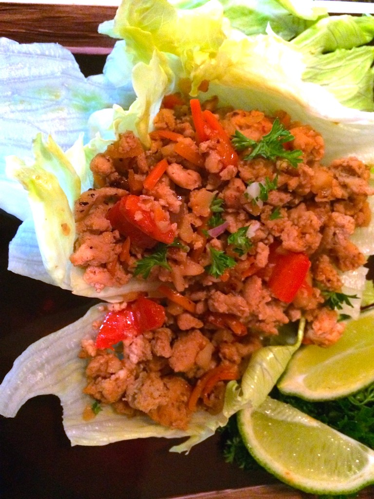 Zesty Thai Lettuce Wraps by Paula Lippert