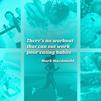 There's No Workout - Mark Quote