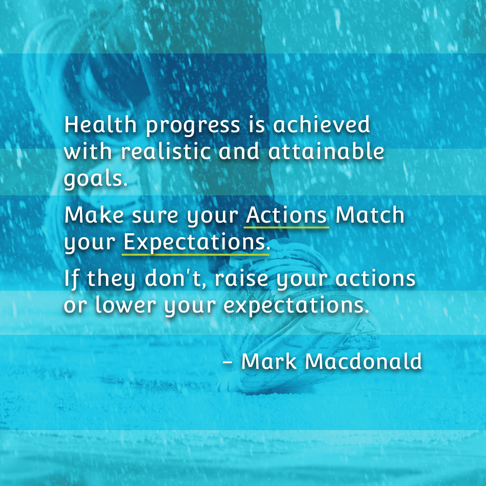Make Sure Your Actions Match Your Expectations - Mark Quote