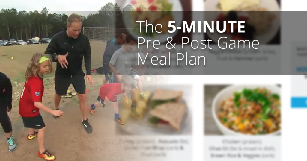 The 5-Minute Pre & Post Game Meal Plan