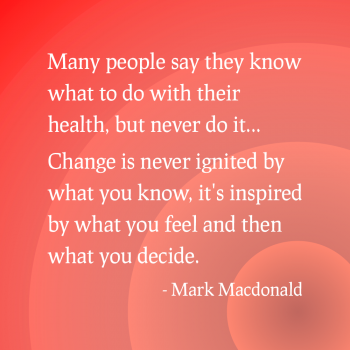 Change is Inspired by What You Feel
