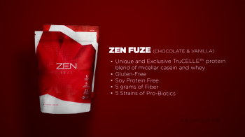 The Power of the Zen Fuze Protein Shake - screenshot