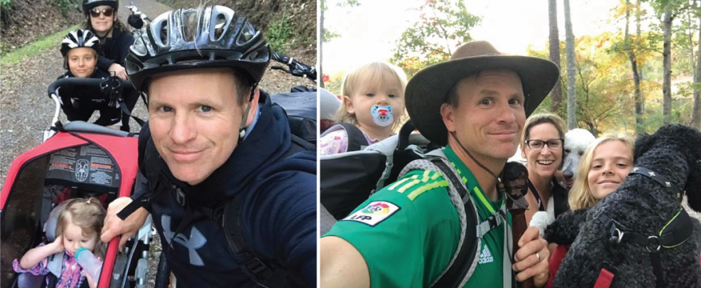 Biking and Hiking as a Family